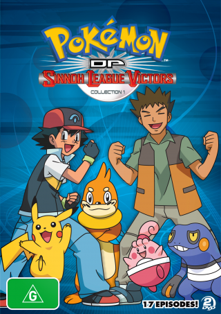 >Pokemon โปเกม่อนภาคปี 13 Diamond and Pearl ภาค Sinnoh League Victors