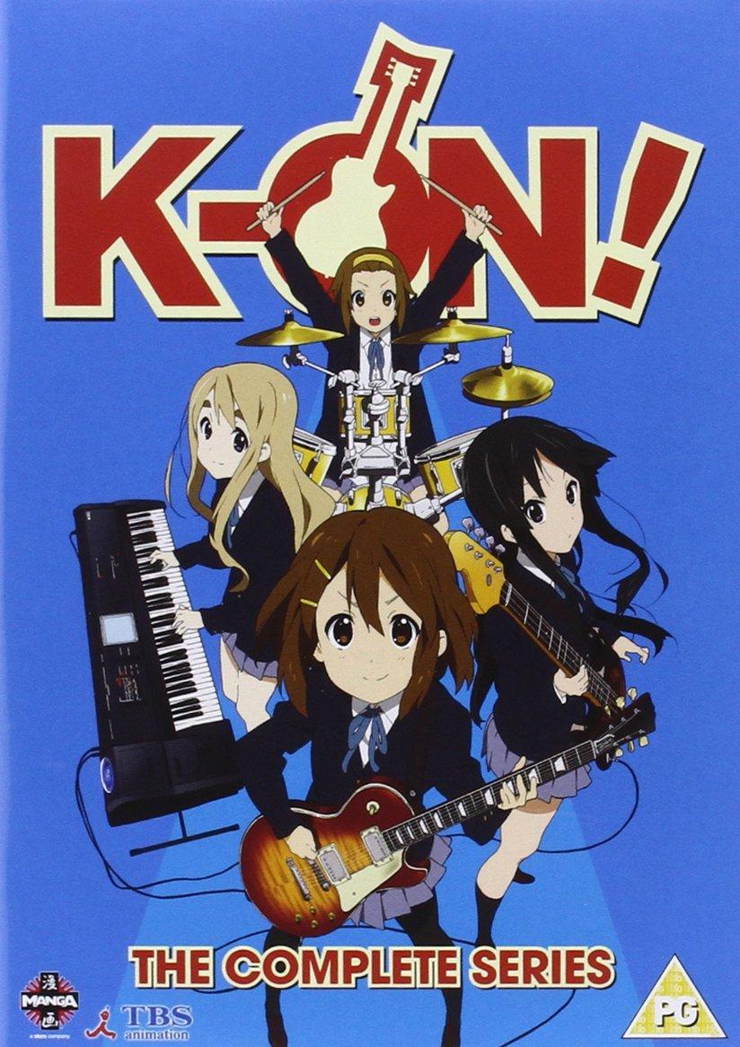 >อนิเมะดนตรี K-ON เค-อง ก๊วนดนตรีแป๋วแหวว ภาค1+ภาค2 ตอนที่ 1-41