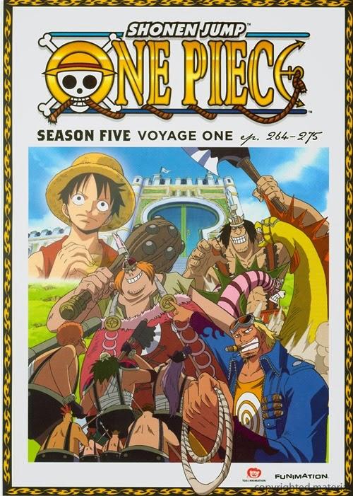 >วันพีช One Piece ภาค 5 เรนโบว์ อาร์ค ตอนที่ 133-144 พากย์ไทย