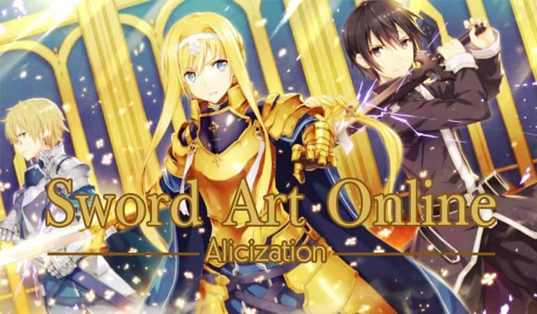 >Sword Art Online Alicization ซอร์ดอาร์ตออนไลน์ SAO ภาค 3 ตอนที่ 1-24 ซับไทย