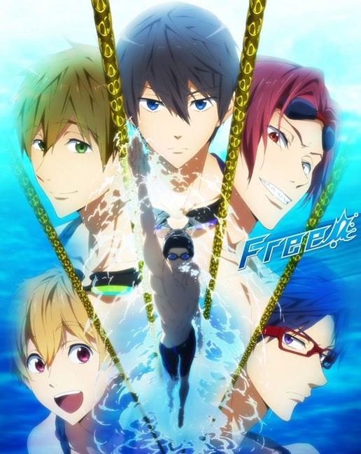 >Free! หนุ่มนักว่ายน้ำ ภาค1 ตอนที่ 1-12 พากย์ไทย