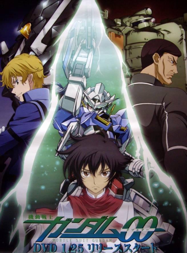 >Mobile Suit Gundam OO กันดั้มดับเบิลโอ ภาค1-2 พากย์ไทย