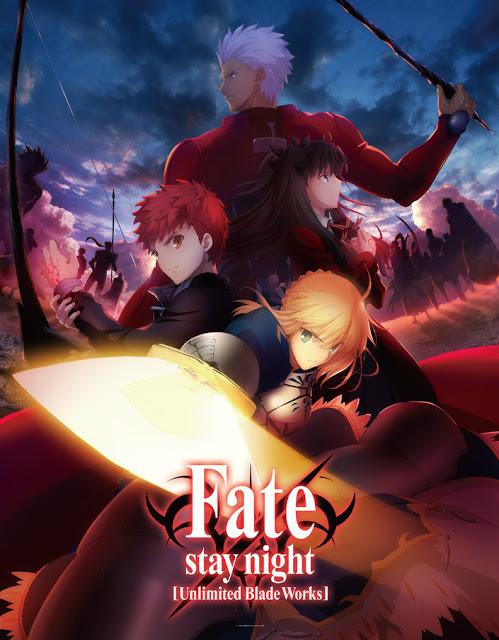 >Fate stay night Unlimited Blade Works ตอนที่ 0-25+SP พากย์ไทย