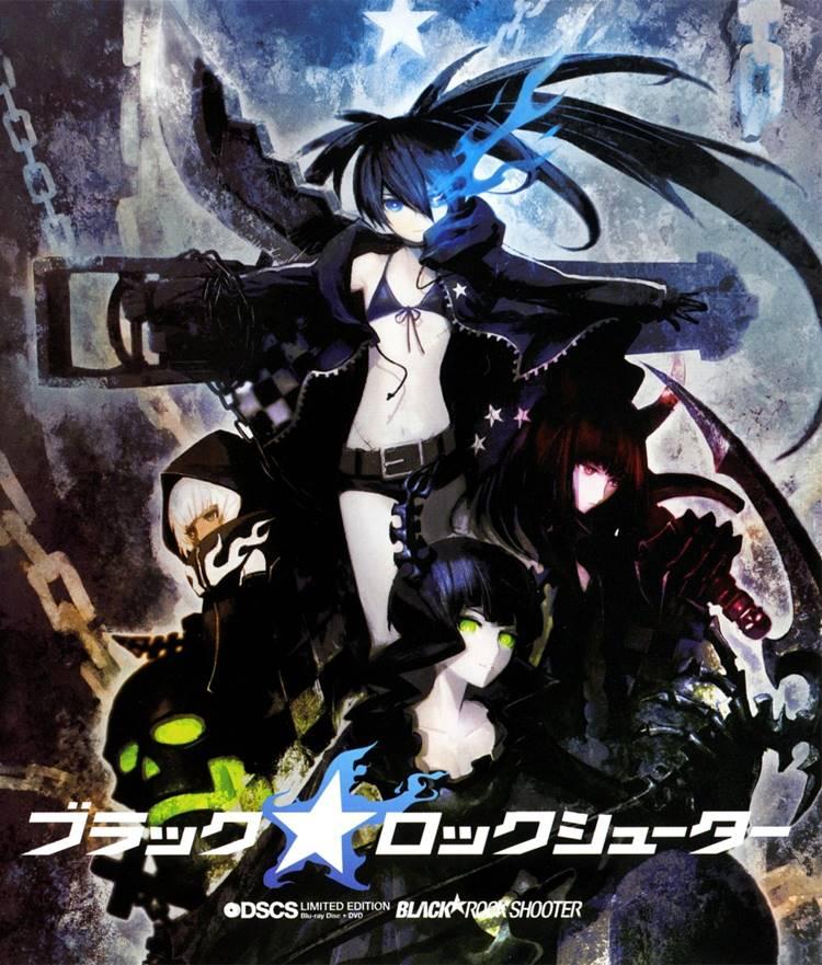 >Black Rock Shooter แบล็ค ร็อค ชูตเตอร์ ตอนที่ 1-8+OVA ซับไทย