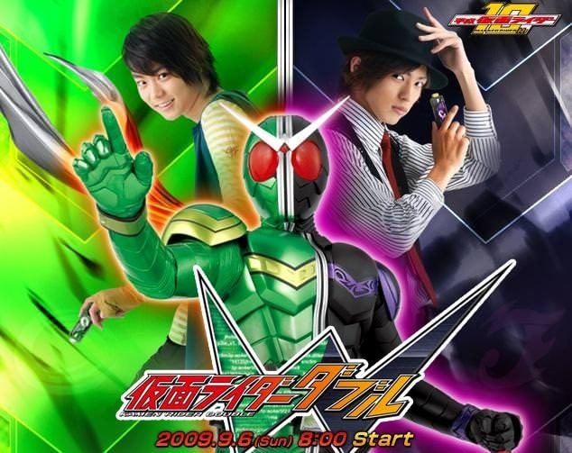 >Kamen Rider W มาสค์ไรเดอร์ดับเบิล ตอนที่ 1-49 พากย์ไทย