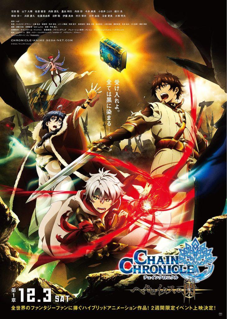 >Chain Chronicle : Haecceitas no Hikari – Movie ตอนที่ 1-4 ซับไทย