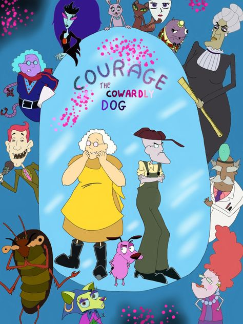 >Courage the Cowardly Dog หมาน้อยผู้กล้าหาญ ตอนที่ 1-101 พากย์ไทย