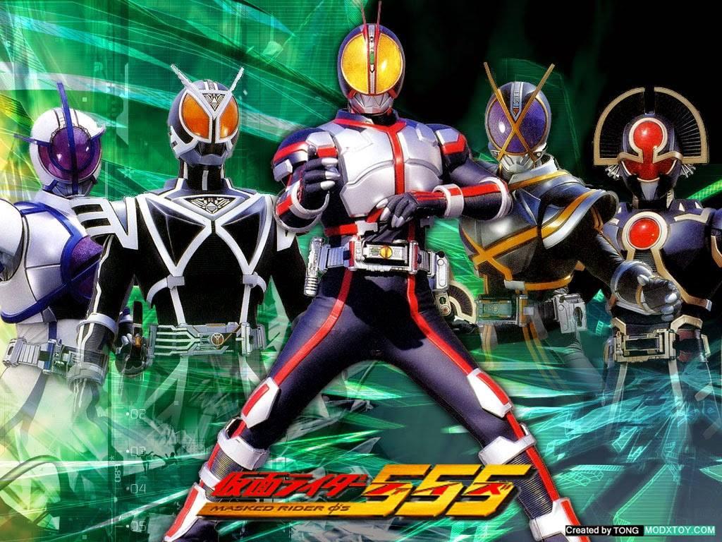 Kamen Rider Faiz 555 มาสค์ไรเดอร์ไฟซ์ พากย์ไทย
