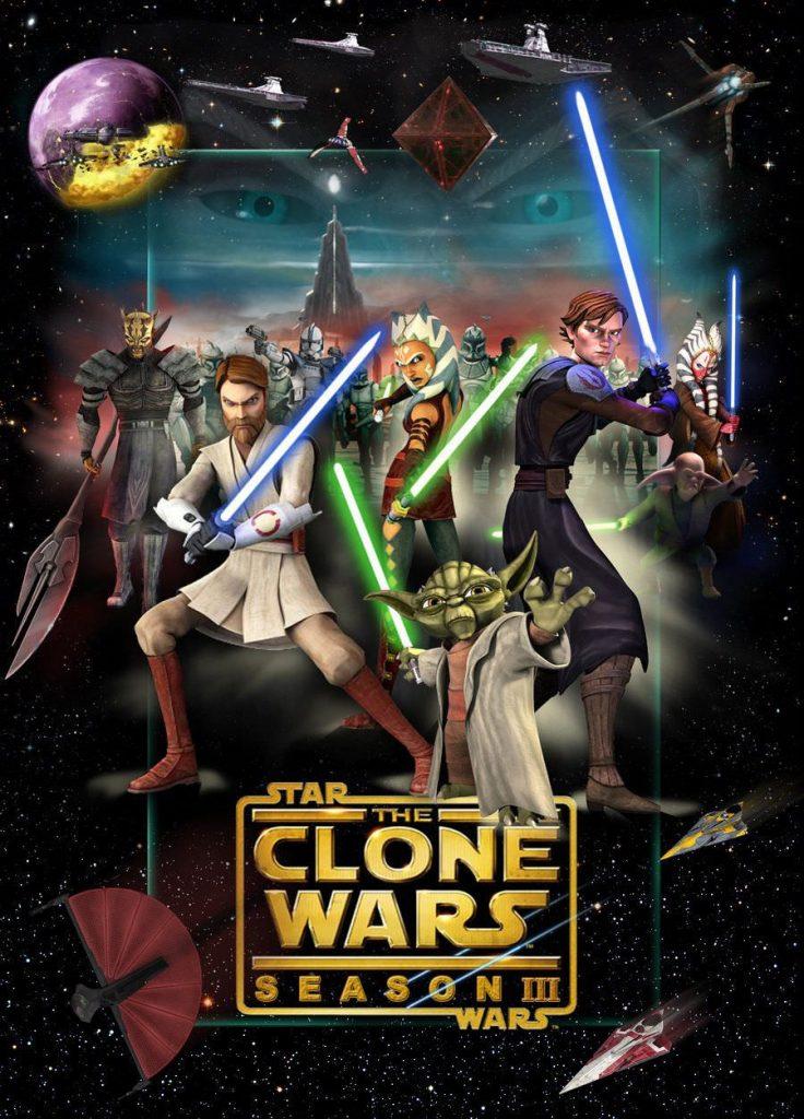 >Star Wars The Clones Wars 3 สตาร์ วอร์ส เดอะ โคลน วอร์ส ภาค3 ตอนที่ 1-22 พากย์ไทย